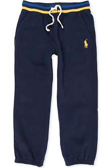 RALPH LAUREN Stretch-jersey jogging bottoms 5-7 years