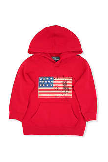 RALPH LAUREN Shawl collar hoody 2-7 years