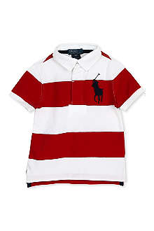 RALPH LAUREN Cotton rugby shirt 2-4 years