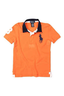 RALPH LAUREN Big Pony short-sleeved rugby shirt 2-7 years