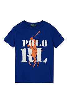 RALPH LAUREN Graphic cotton t-shirt 3-7 years