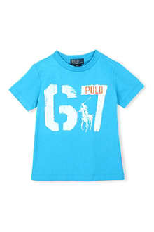 RALPH LAUREN G7 printed t-shirt 2-7 years