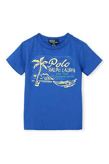 RALPH LAUREN Graphic-printed t-shirt 2-7 years