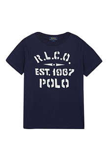RALPH LAUREN Graphic t-shirt 5-7 years