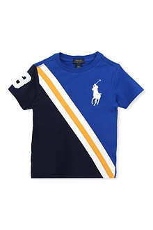RALPH LAUREN Panelled logo t-shirt 5-7 years