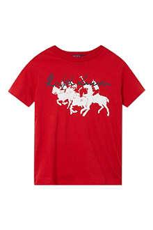 RALPH LAUREN Graphic t-shirt 2-7 years