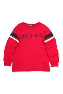 RALPH LAUREN RL67 cotton sweatshirt 2-7 years