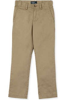 RALPH LAUREN Skinny-fit chino trousers 5-7 years