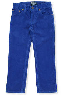 RALPH LAUREN Five-pocket slim-fit pants 2-7 years