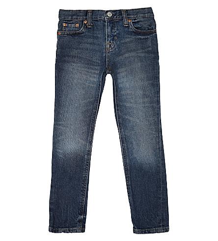 RALPH LAUREN Super-skinny mid-rise jeans 2-7 years (Magnus+wash