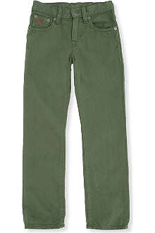RALPH LAUREN Five-pocket skinny jeans 2-7 years