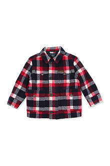 RALPH LAUREN Plaid wool jacket 2-7 years
