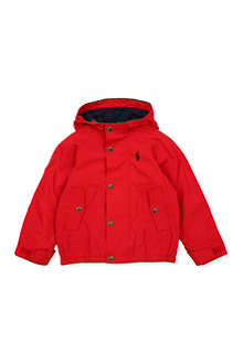 RALPH LAUREN Hooded anorak 2-7 years