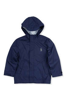 RALPH LAUREN Stadium hooded raincoat 2-7 years