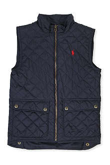 RALPH LAUREN Richmond quilted gilet 2-7 years