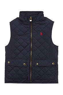 RALPH LAUREN Richmond bomber gilet 2-7 years