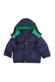 RALPH LAUREN Varsity down jacket 2-7 years