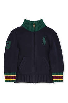 RALPH LAUREN Ralph Lauren knitted cardigan 2-7 years