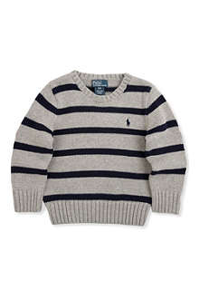RALPH LAUREN Cotton-blend sweater 2-7 years