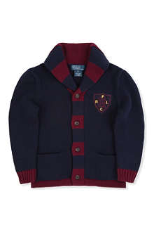 RALPH LAUREN Shawl collar cardigan 2-7 years