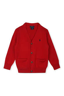 RALPH LAUREN Loosely-cut cotton cardigan