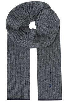 RALPH LAUREN Rib scarf