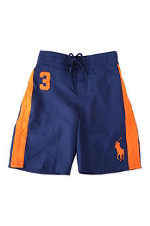 RALPH LAUREN Sanibel Big Pony board shorts 12-24 months