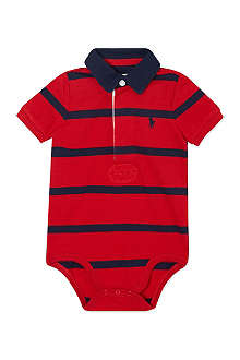 RALPH LAUREN Striped rugby bodysuit 3-12 months