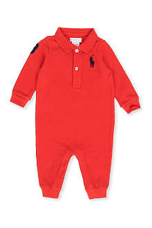 RALPH LAUREN Big Pony polo bodysuit 3-9 months