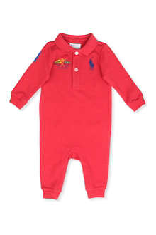 RALPH LAUREN Big Pony Yacht Club baby-grow 3-9 months
