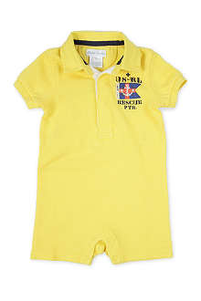 RALPH LAUREN Rescue polo short all-in-one 3-9 months