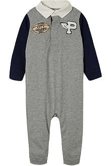 RALPH LAUREN Rugby-style coverall 3-12 months
