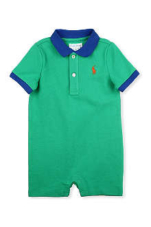 RALPH LAUREN Polo short bodysuit 3-18 months