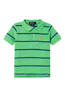 RALPH LAUREN Novelty striped polo shirt 3-24 months