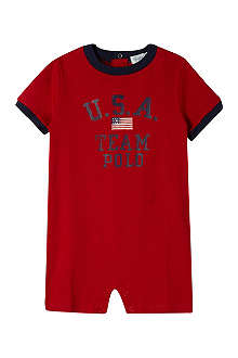 RALPH LAUREN Team Polo bodysuit 3-24 months