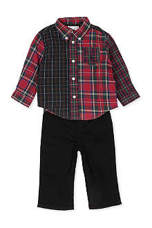 RALPH LAUREN Checked cotton shirt 3-9 months