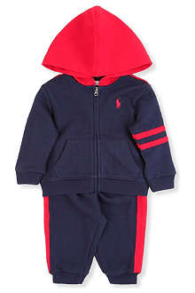 RALPH LAUREN Novelty cotton tracksuit 3-9 months