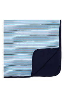 RALPH LAUREN Striped baby blanket