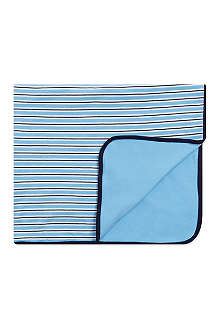 RALPH LAUREN Reversible cotton blanket