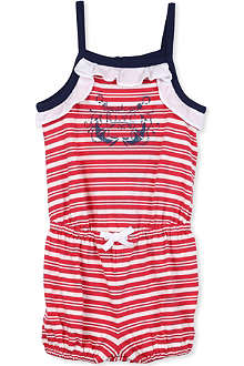 RALPH LAUREN Striped bubble romper suit 6-9 months