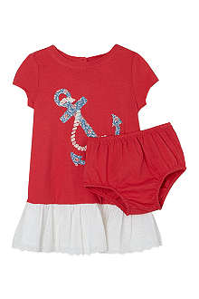 RALPH LAUREN Nautical dress set 3-12 months