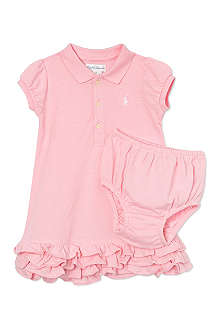 RALPH LAUREN Cupcake polo dress 3-9 months