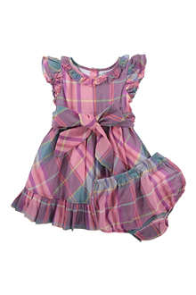 RALPH LAUREN Checked dress 3-9 months