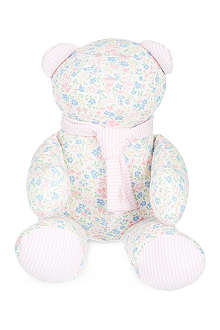 RALPH LAUREN Floral scarf teddy bear
