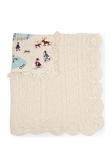 RALPH LAUREN Holiday sampler blanket