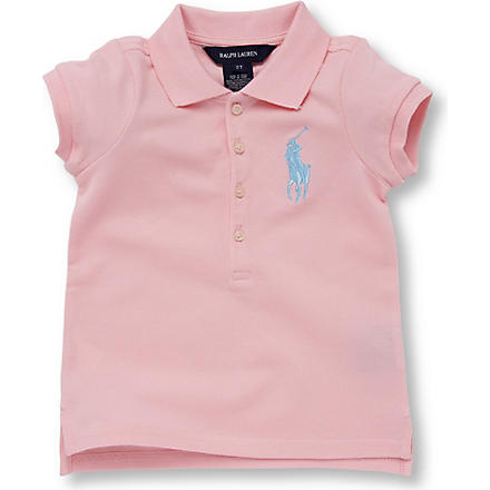 RALPH LAUREN Big Pony polo shirt 2-7 years (Pink