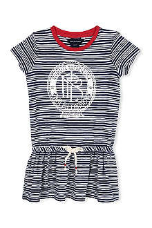 RALPH LAUREN Striped cotton dress 2-4 years