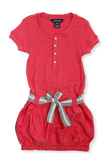 RALPH LAUREN Henley bubble dress 2-7 years