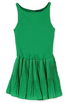 RALPH LAUREN Pleated skirt dress 2-4 years