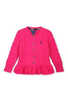 RALPH LAUREN Peplum cardigan 2-4 years